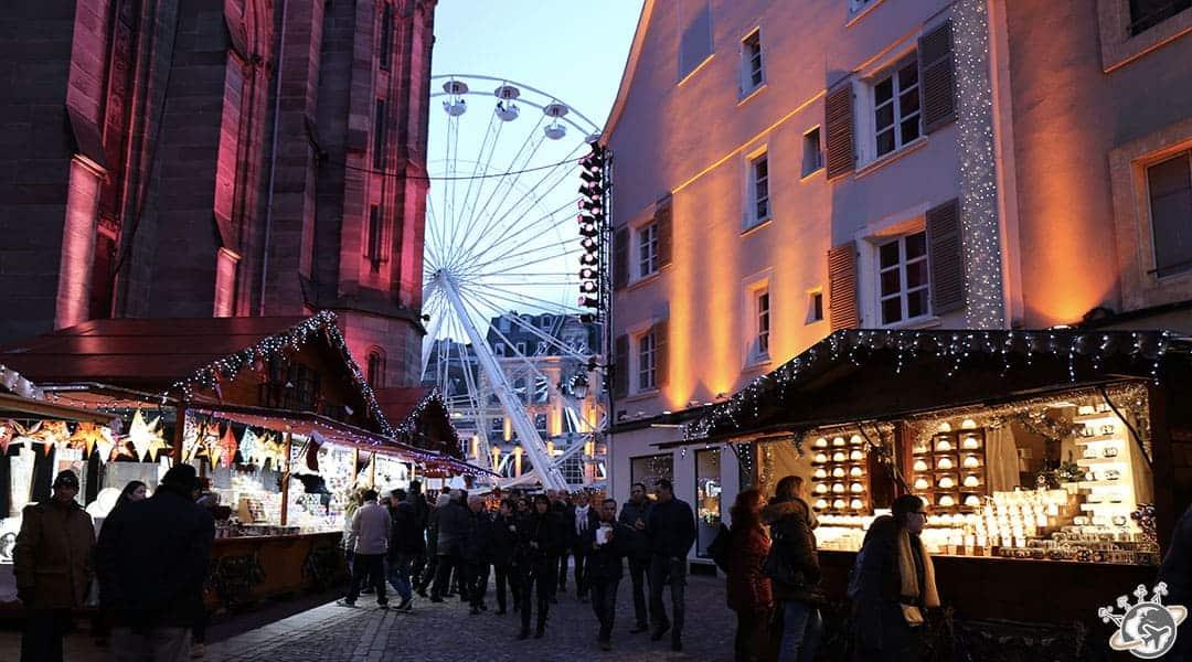 le marché de noël de mulhouse