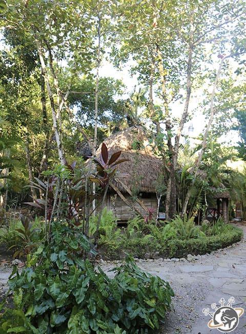 La jungle du Natura Cabana, Cabarete, Puerto Plata