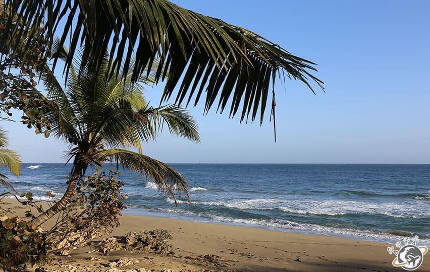 La plage du Natura Cabana, Cabarete, Puerto Plata