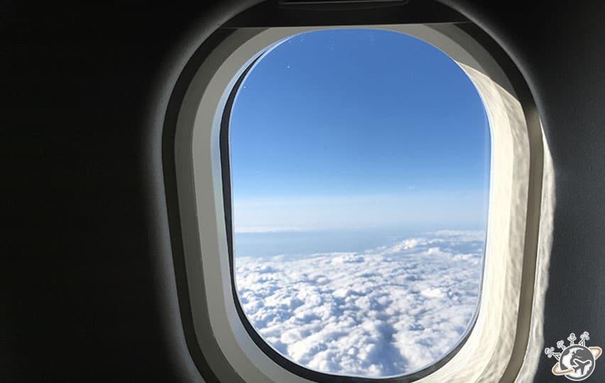 Les nuages entre Paris et New York