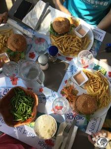déjeuner à Pointe Venus