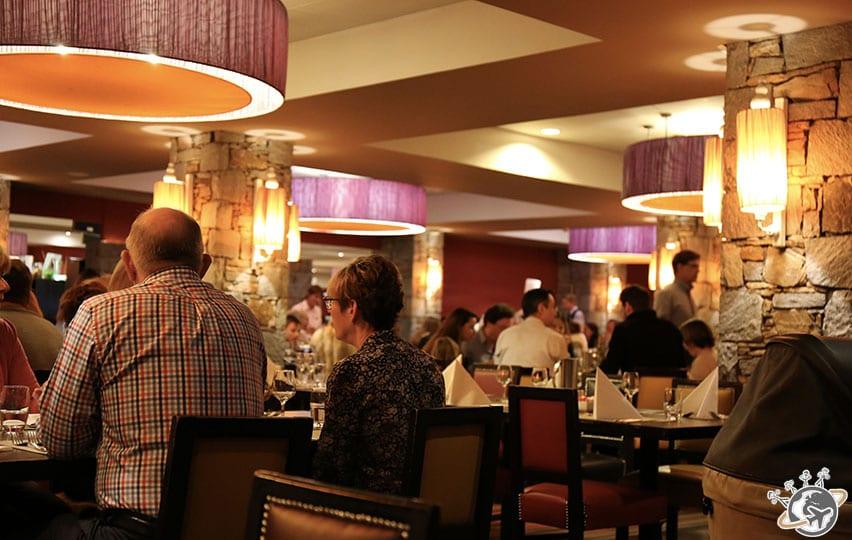 Le restaurant principal.