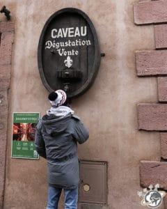le caveau à Ribeauvillé
