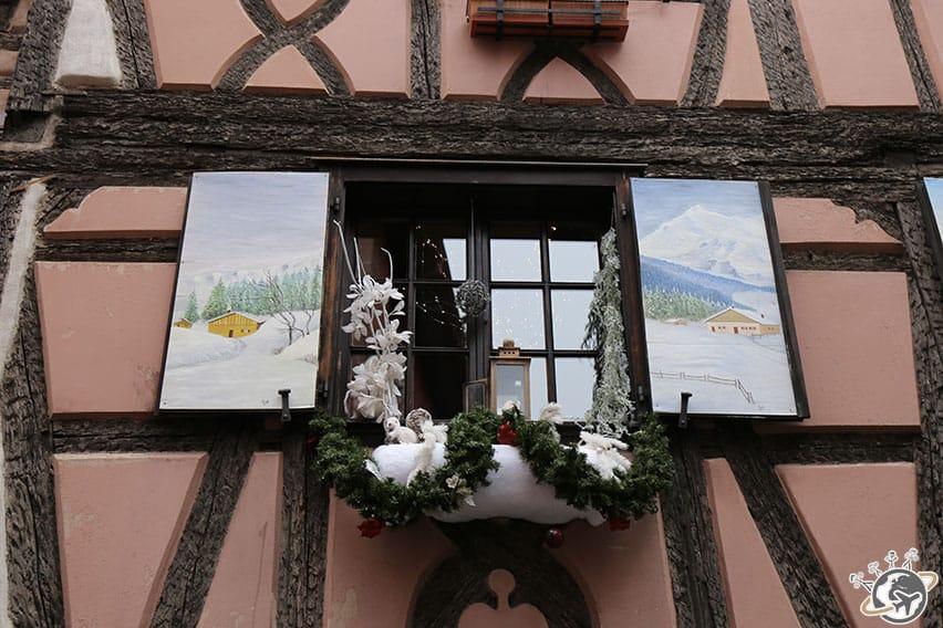 jolie décoration à Ribeauvillé
