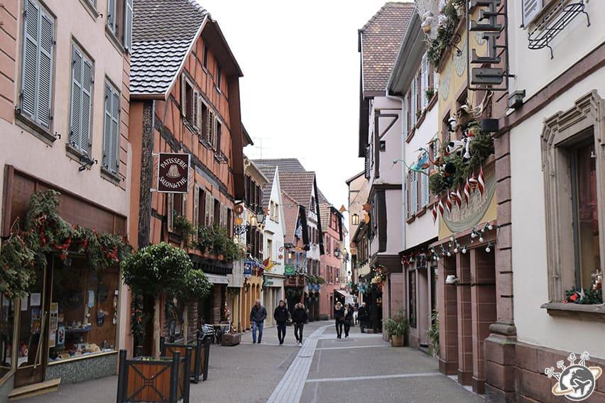 la rue principale de Ribeauvillé
