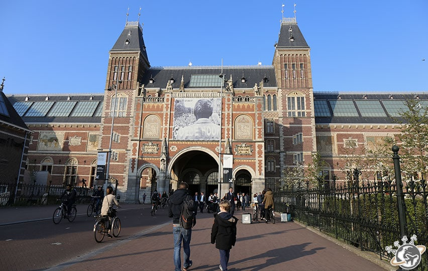 Le Rijksmuseum à Amsterdam