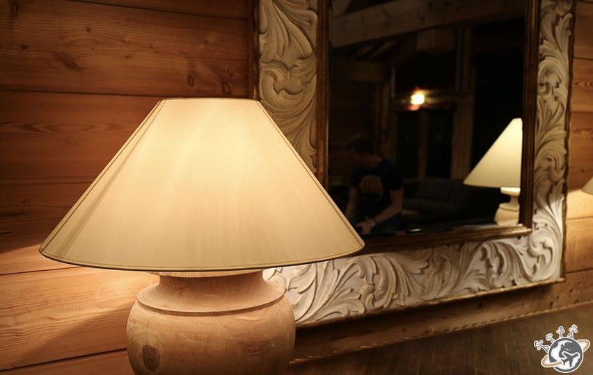 Le petit salon à Peisey Vallandry.