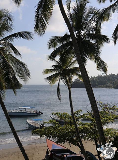 Cayo Levantado à Samana, République dominicaine