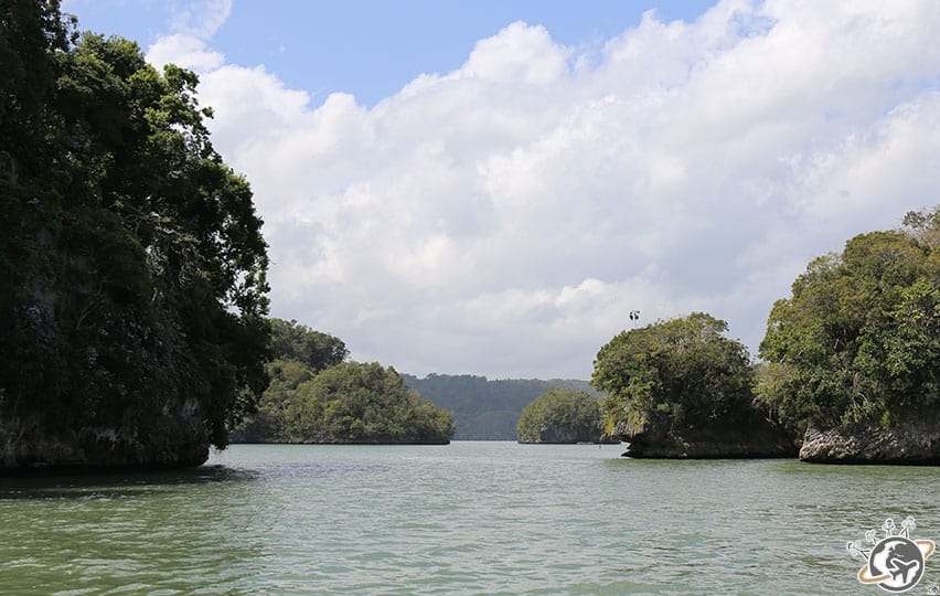Le Parc National de Los Haitises au large de Samana dans le Nord de la République dominicaine
