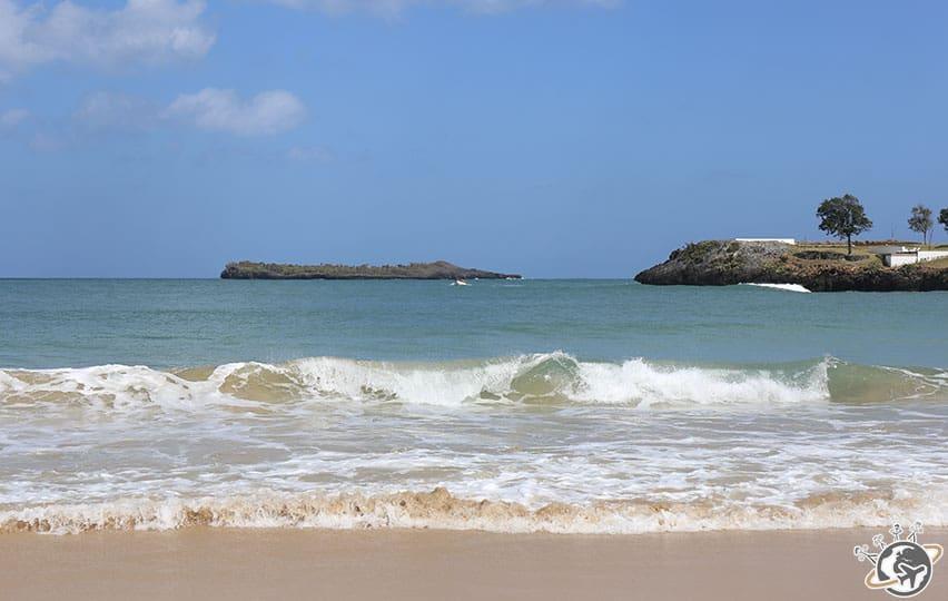 la plage El Limon à Samana, République dominicaine