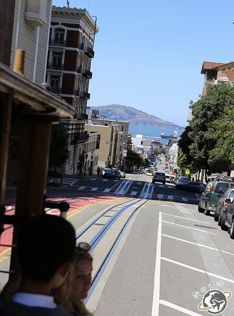 Balade en cable car à San Francisco