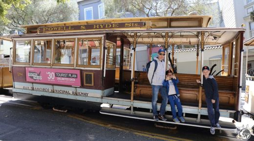 Le cable car de San Francisco