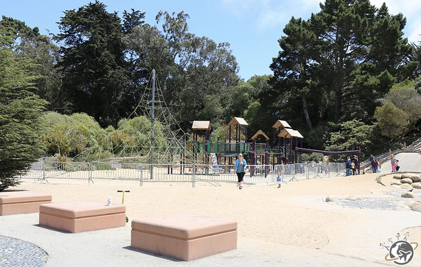 L'aire de jeux du Golden Gate Park de San Francisco