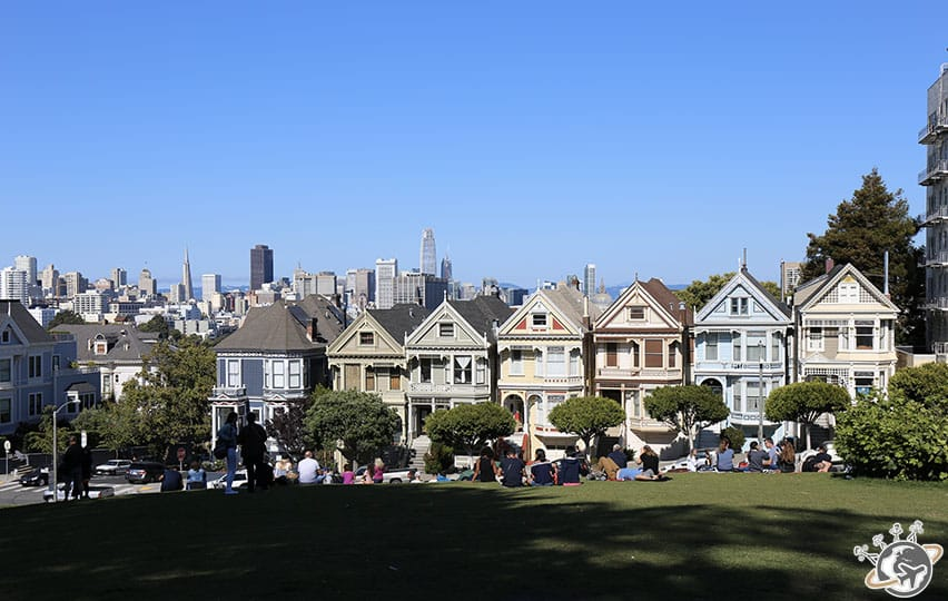 Les Painted Ladies de San Francisco