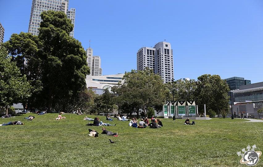 Le Yerba Buena Garden à San Francisco