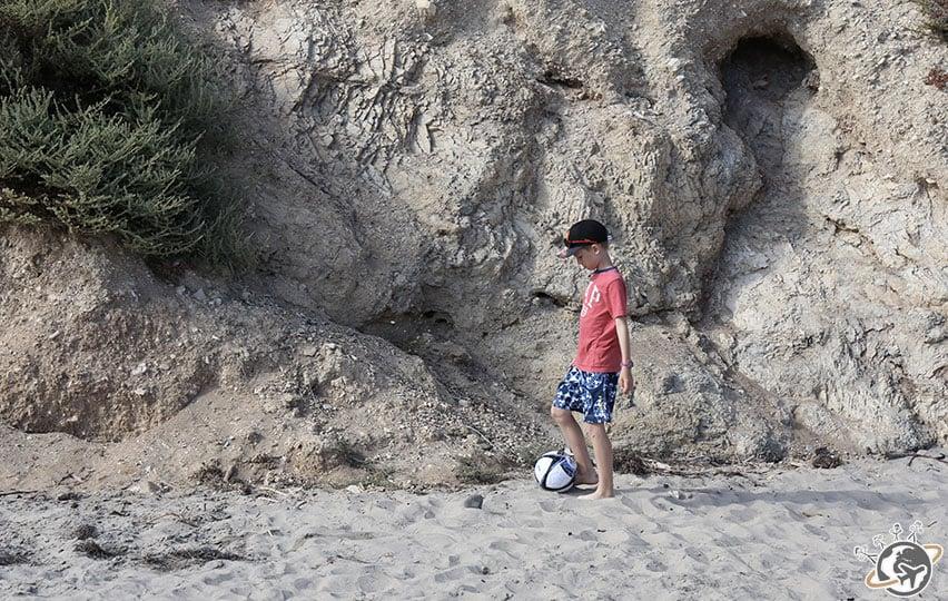 La plage d'Arruyo Beach à Santa Barbara en Californie