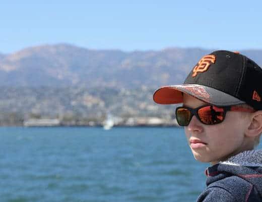 Une belle croisière dans la baie de Santa Barbara en Californie