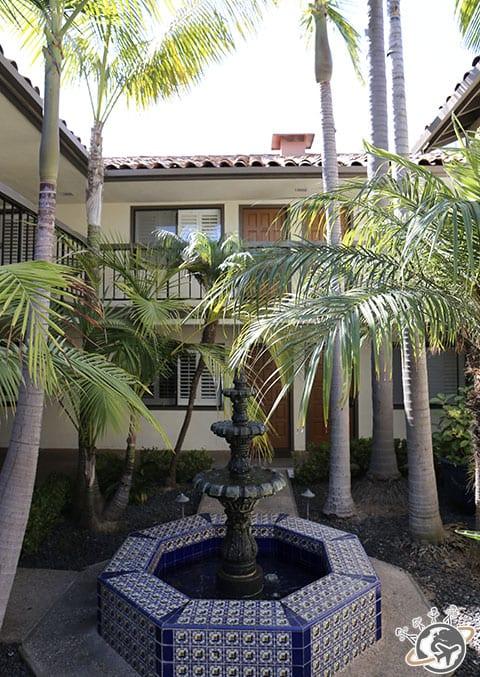 Notre motel, le franciscan inn à Santa Barbara en Californie