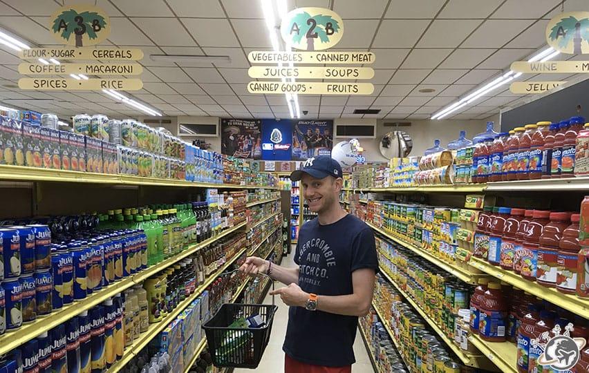 Le supermarché mexicain du stearns wharf de Santa Barbara en Californie