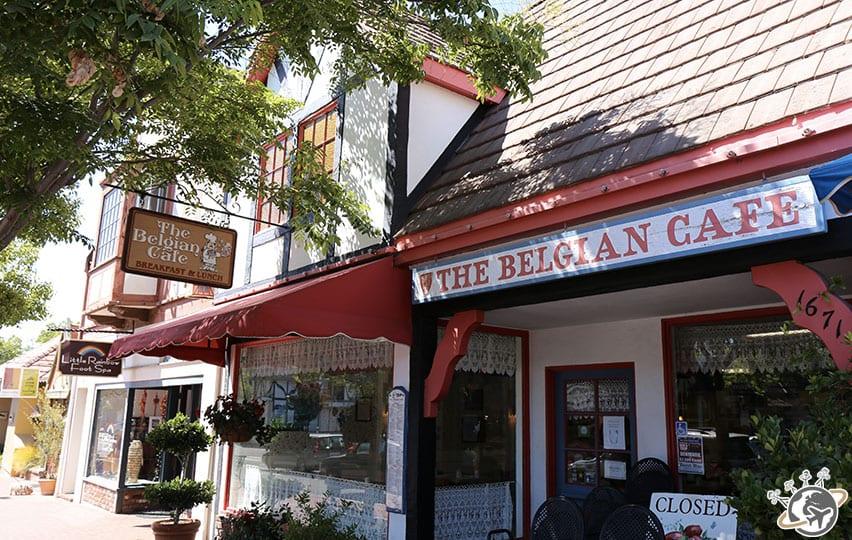 Un magasin belge à Solvang dans le comté de Santa Barbara en Californie