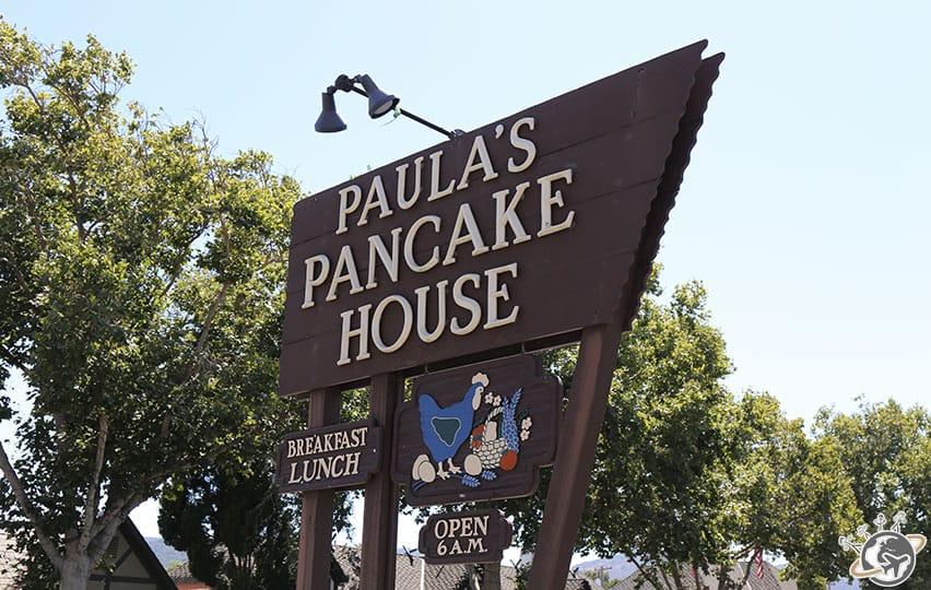 Notre restaurant pour déjeuner à Solvang dans le comté de Santa Barbara en Californie