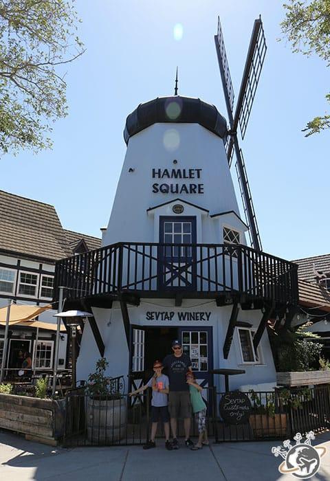 Un autre moulin à Solvang dans le comté de Santa Barbara en Californie