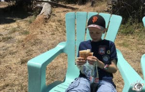 Un bon déjeuner à Santa Cruz en Californie
