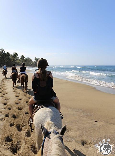 Balade à cheval à Cabarete, Puerto Plata