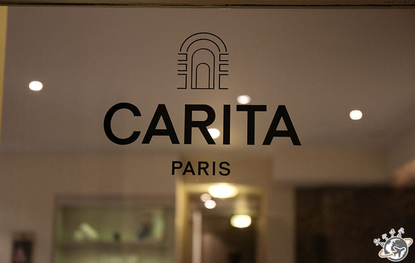 Un massage au Spa Carita.