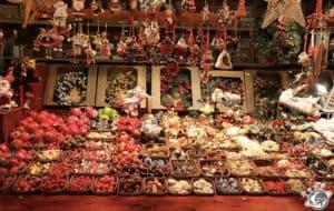 Les chalets des marchés de Noël de Strasbourg