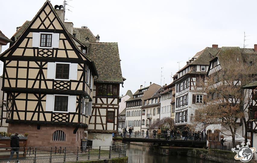 Les jolies maisons à colombage de Petite France à Strasbourg