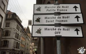 Plein de marchés de noël à Strasbourg