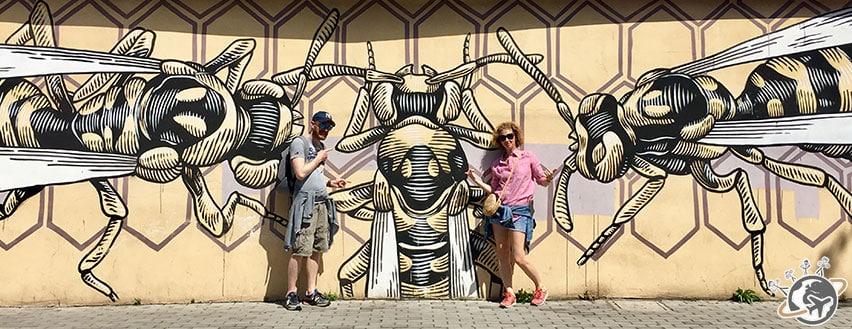 Street art à Quadraro