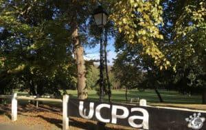 une des pelouses de l'UCPA