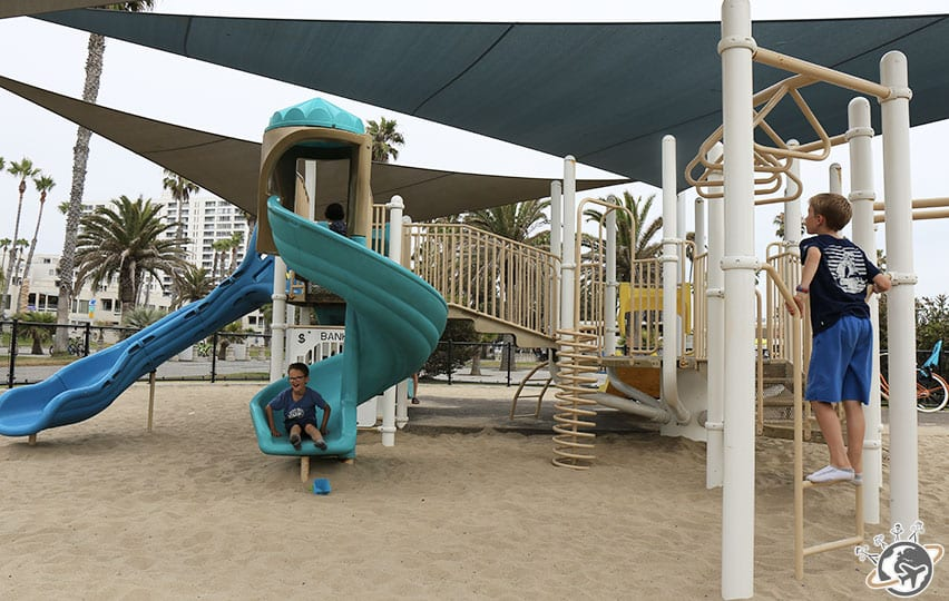 Ninja Warriors à Venice Beach