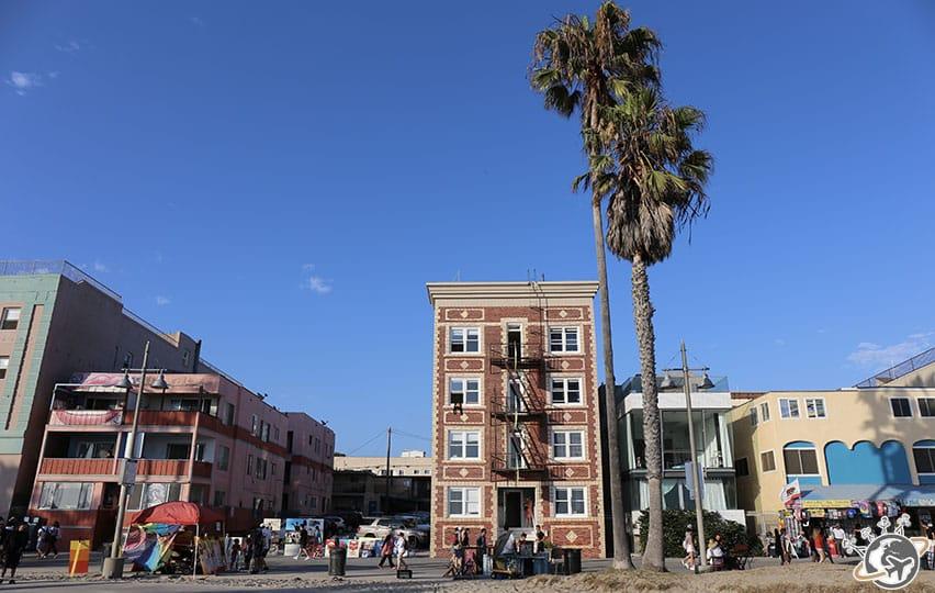 Notre apparthotel à Venice Beach à Los Angeles en Californie