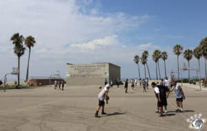 le recreation center à côté du skate park de Venice Beach à Los Angeles en Californie