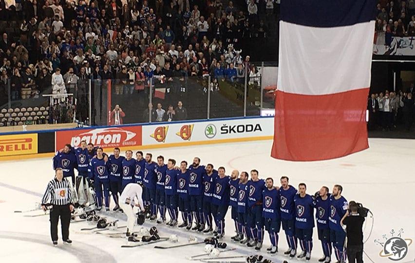 Les Bleus chantent la Marseillaise