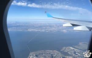 Première vue de San Francisco en Californie