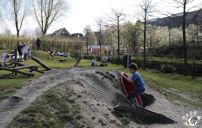 Aire de jeux des petits à Westerpark.